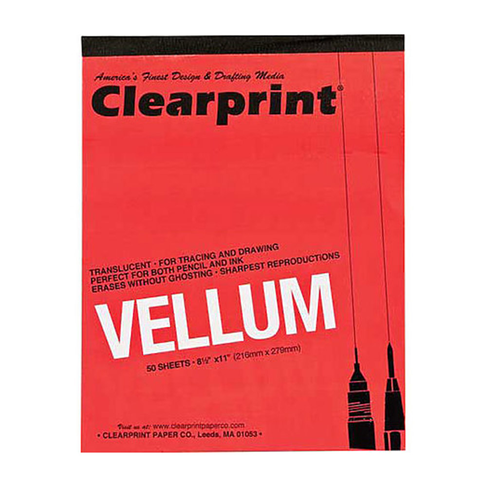 Clearprint, 16#, Vellum, Pad