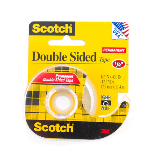 3m Double Stick Tape 1 2 x450