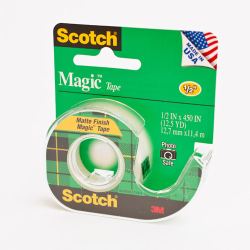 3m Magic Tape 1 2 x450