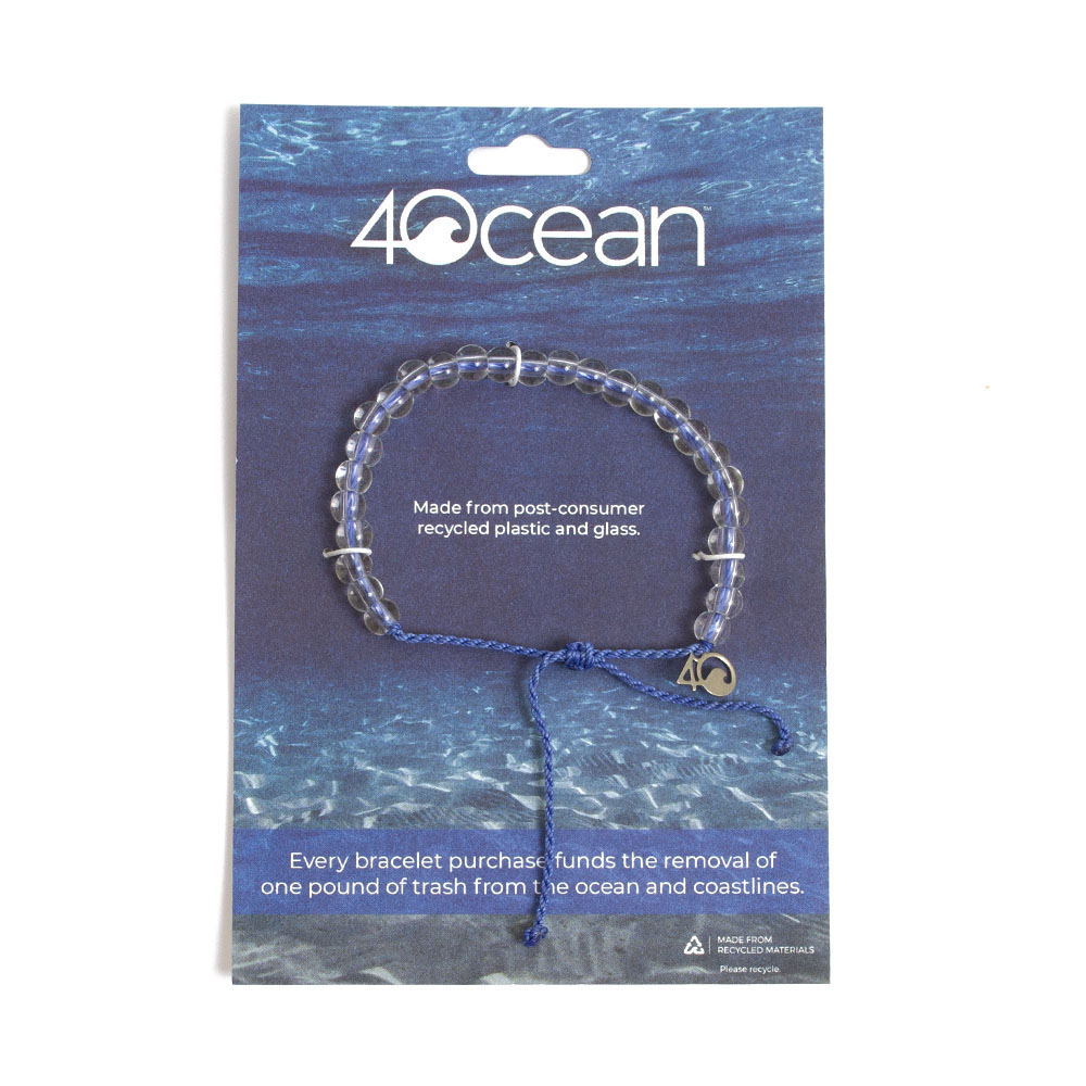 4ocean, Braclet, Beaded, Signature Blue