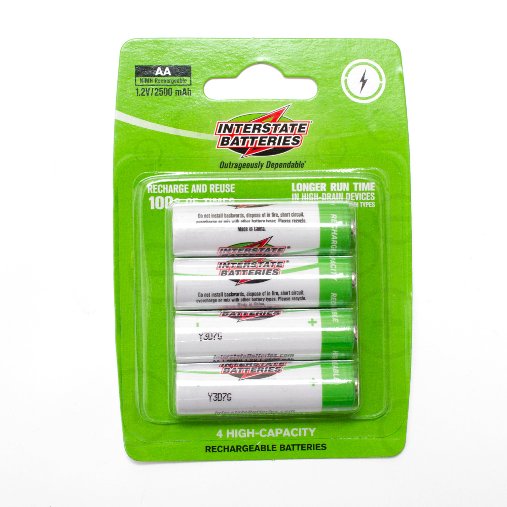 AA Rechargeable Battery 4pk