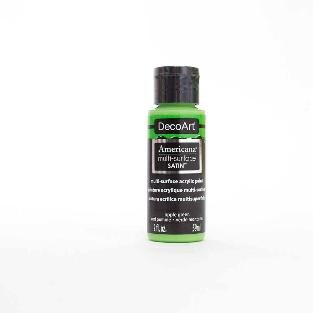 Americana, Multi-Surface, Acrylic Paint, 2oz, Apple Green