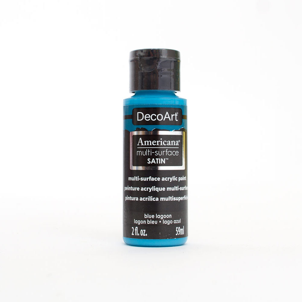 Americana, Multi-Surface, Acrylic Paint, 2oz, Blue Lagoon