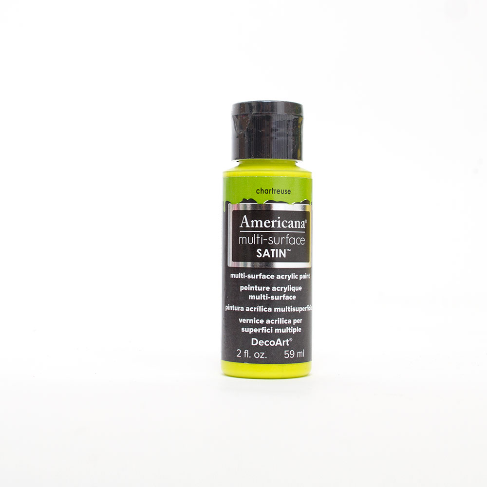 Americana, Multi-Surface, Acrylic Paint, 2oz, Chartreuse