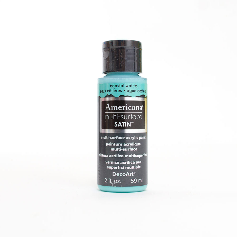 Americana, Multi-Surface, Acrylic Paint, 2oz, Coastal Waters