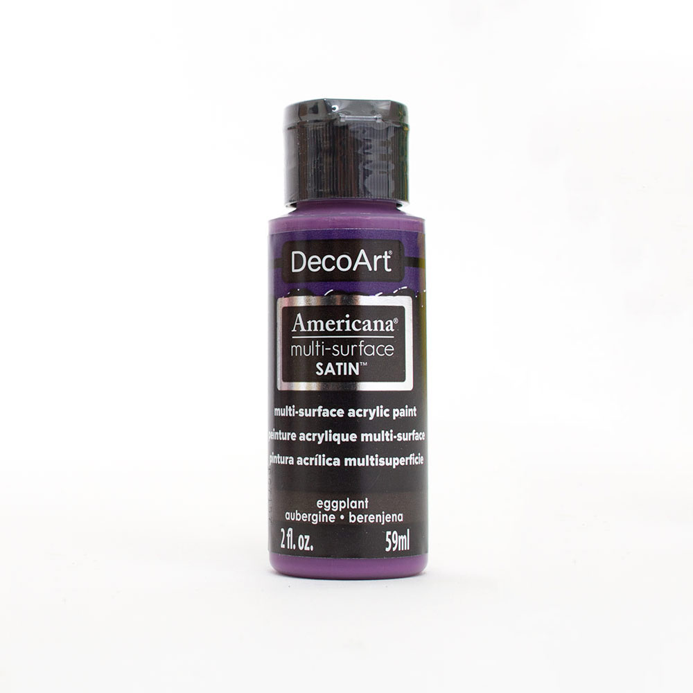 Americana, Multi-Surface, Acrylic Paint, 2oz, Eggplant
