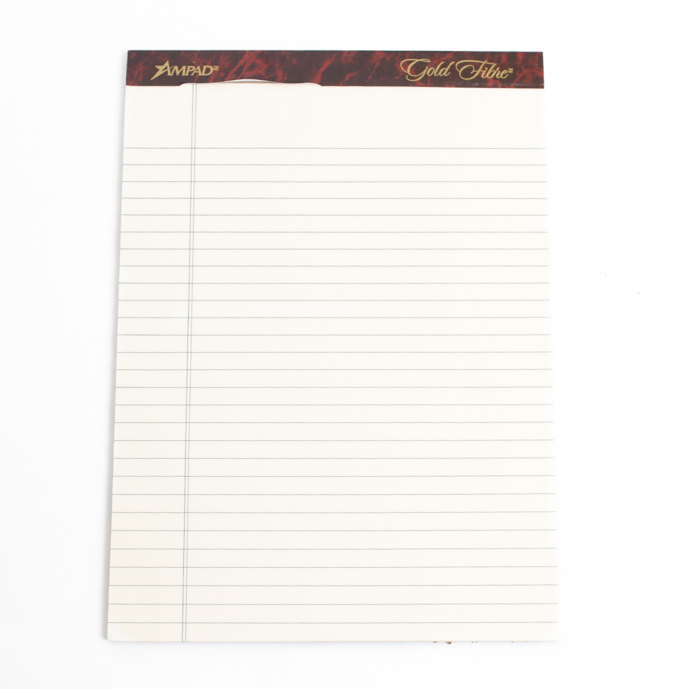 Legal Pad, 50 Sheets