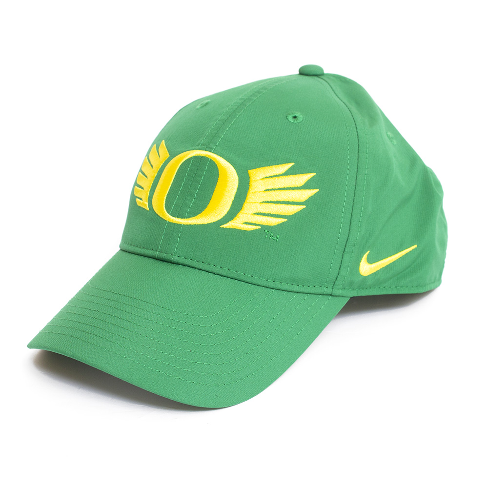 Classic Oregon O, O Wings, Nike, Dri-FIT, Legacy 91, Adjustable, Hat