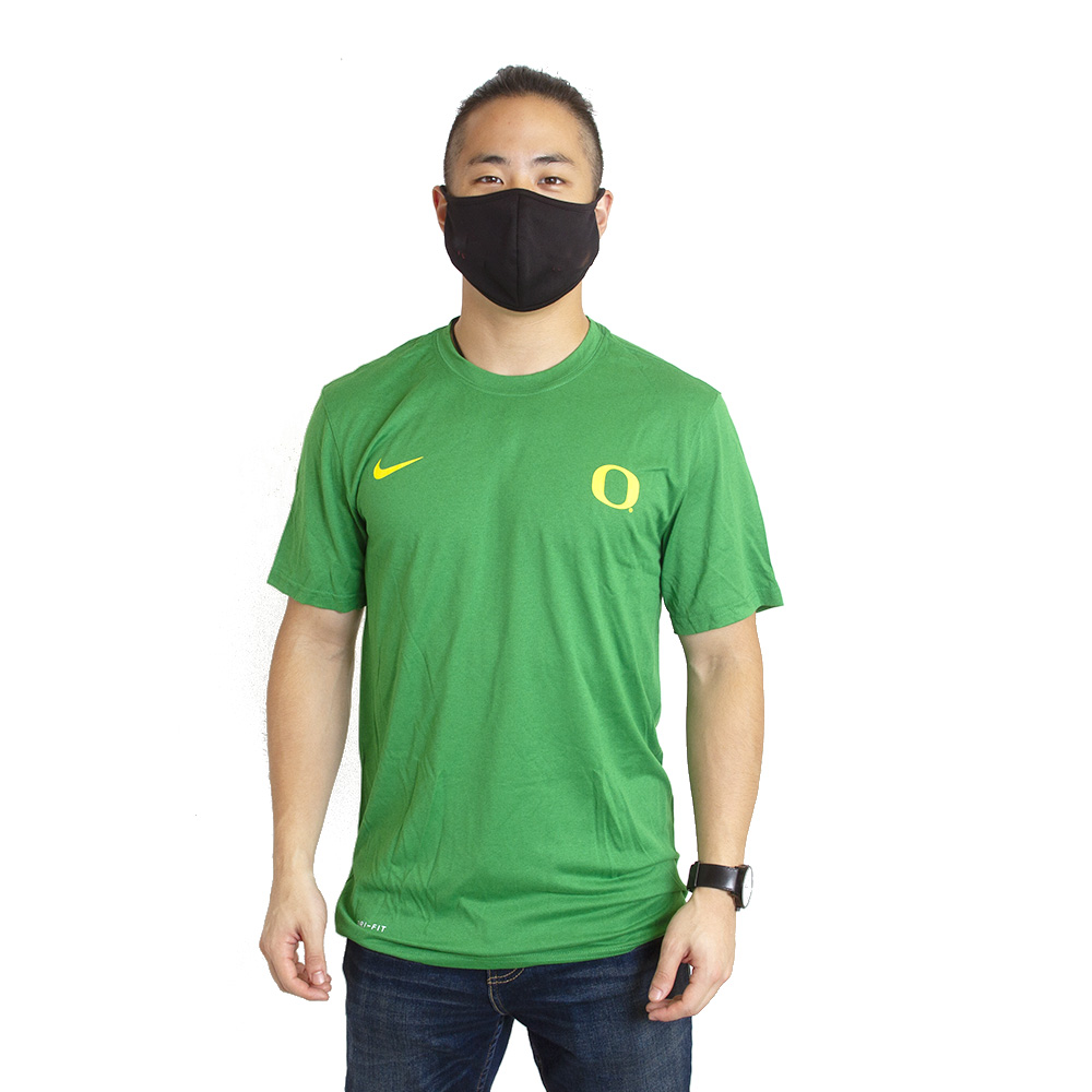 Classic Oregon O, Nike, Legend, Left Chest, T-Shirt