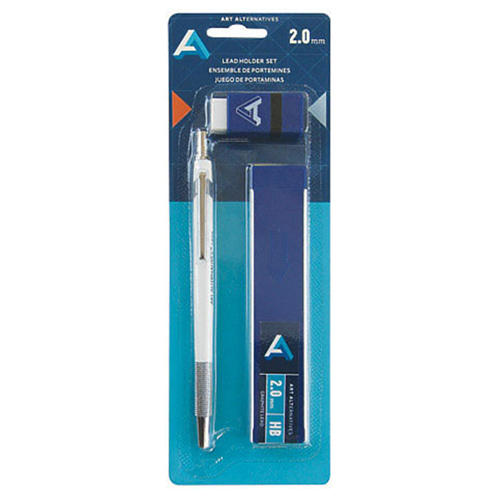 Art Alternatives, Lead Holder, Eraser, Set