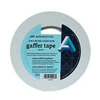 "Art Alternatives, Gaffer, Vinyl Tape, White, 2"" x 30 Yard"