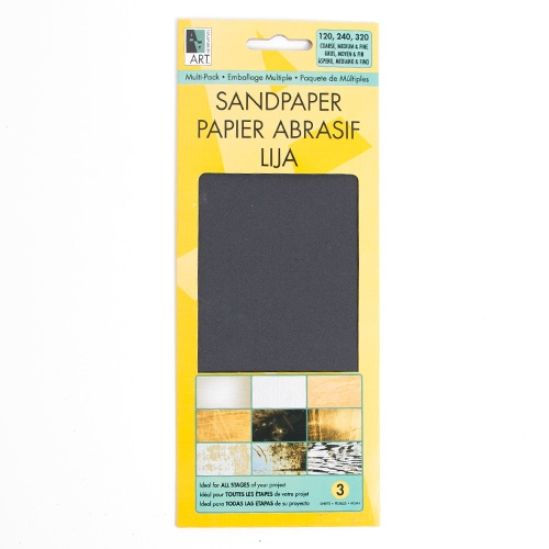 Art Alternatives, Sand Paper, Multi-Pack, 3 Pack