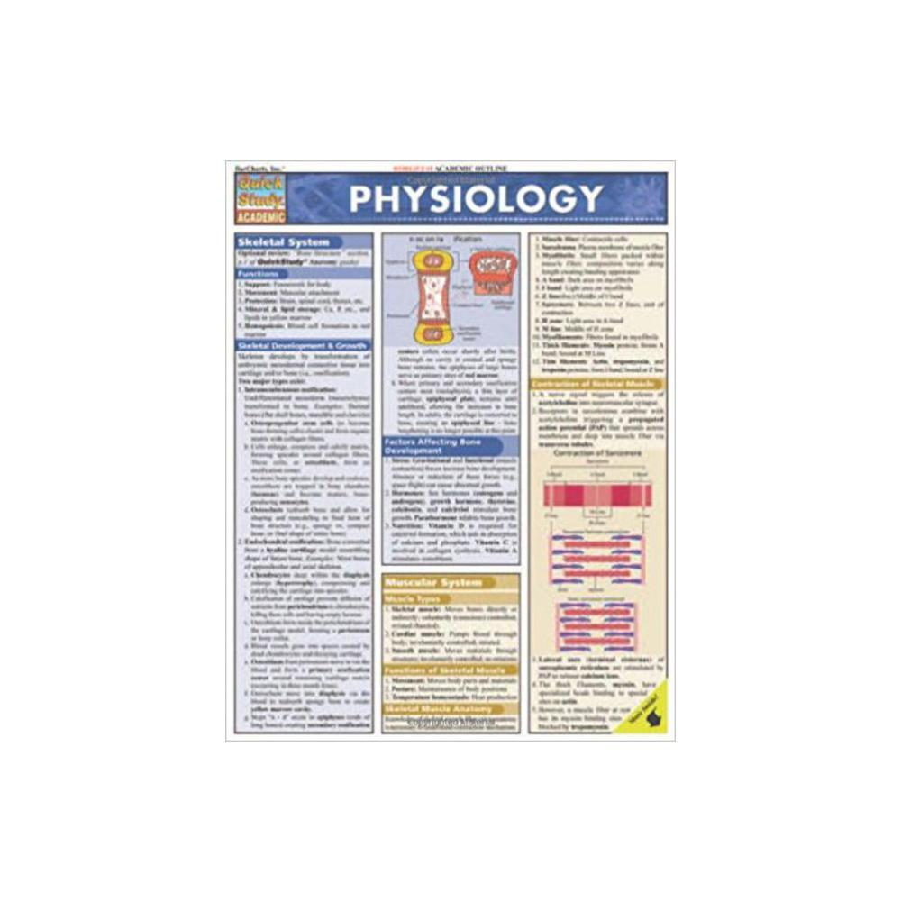 Barchart, Study Guide, Physiology