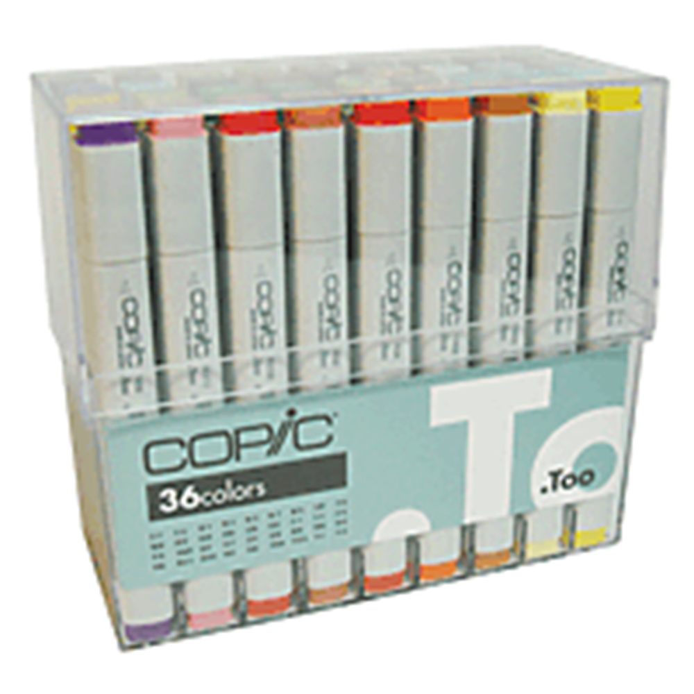 Basic Color, Copic, Marker Set, 36 Count