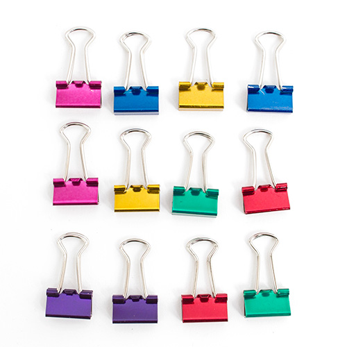 Baumgartens, Metal, Binder Clips, Mini