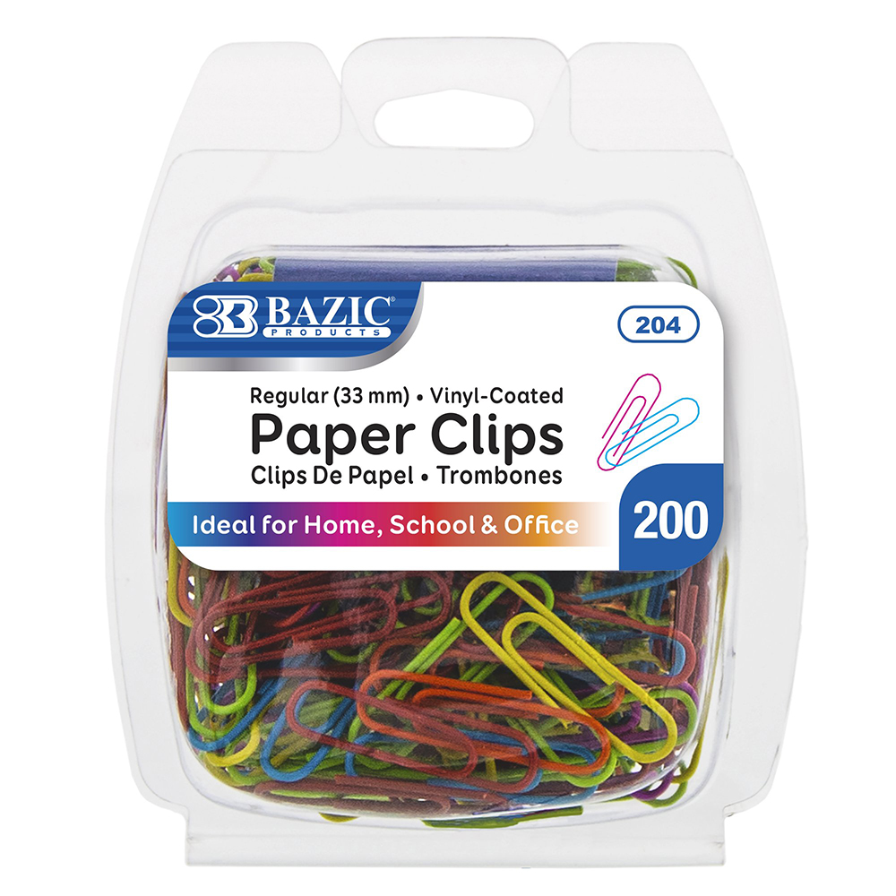 Bazic, Paper Clips, Colors