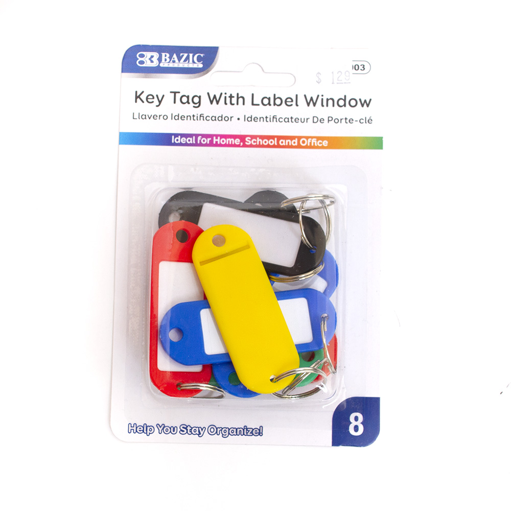 Bazic, Key Tag, Label Window