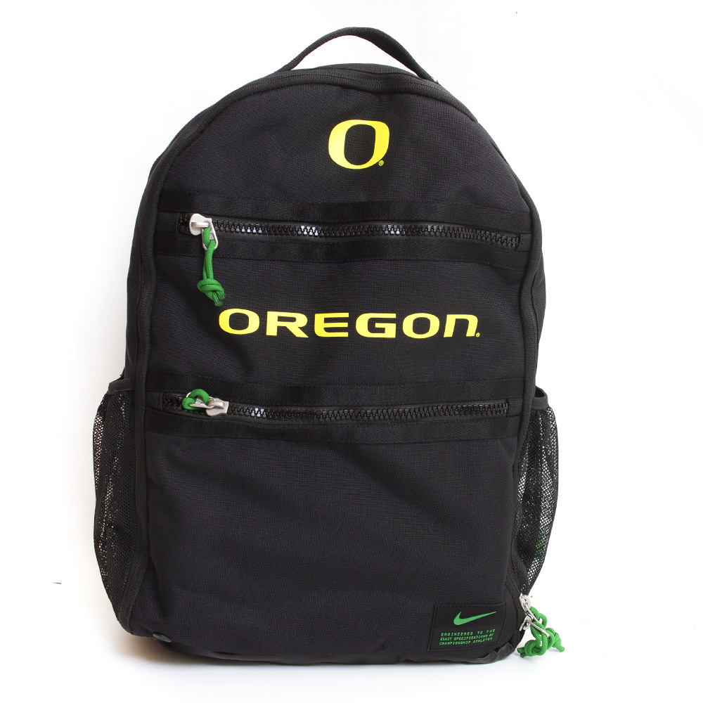 Classic Oregon O, Oregon, Nike, Heat, Backpack
