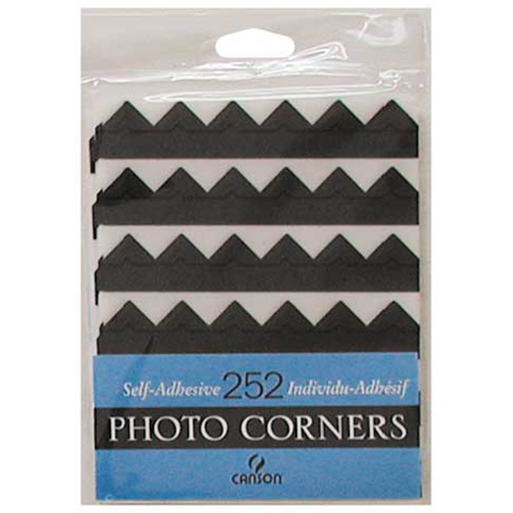 Canson, Self-adhesive, Photo corners