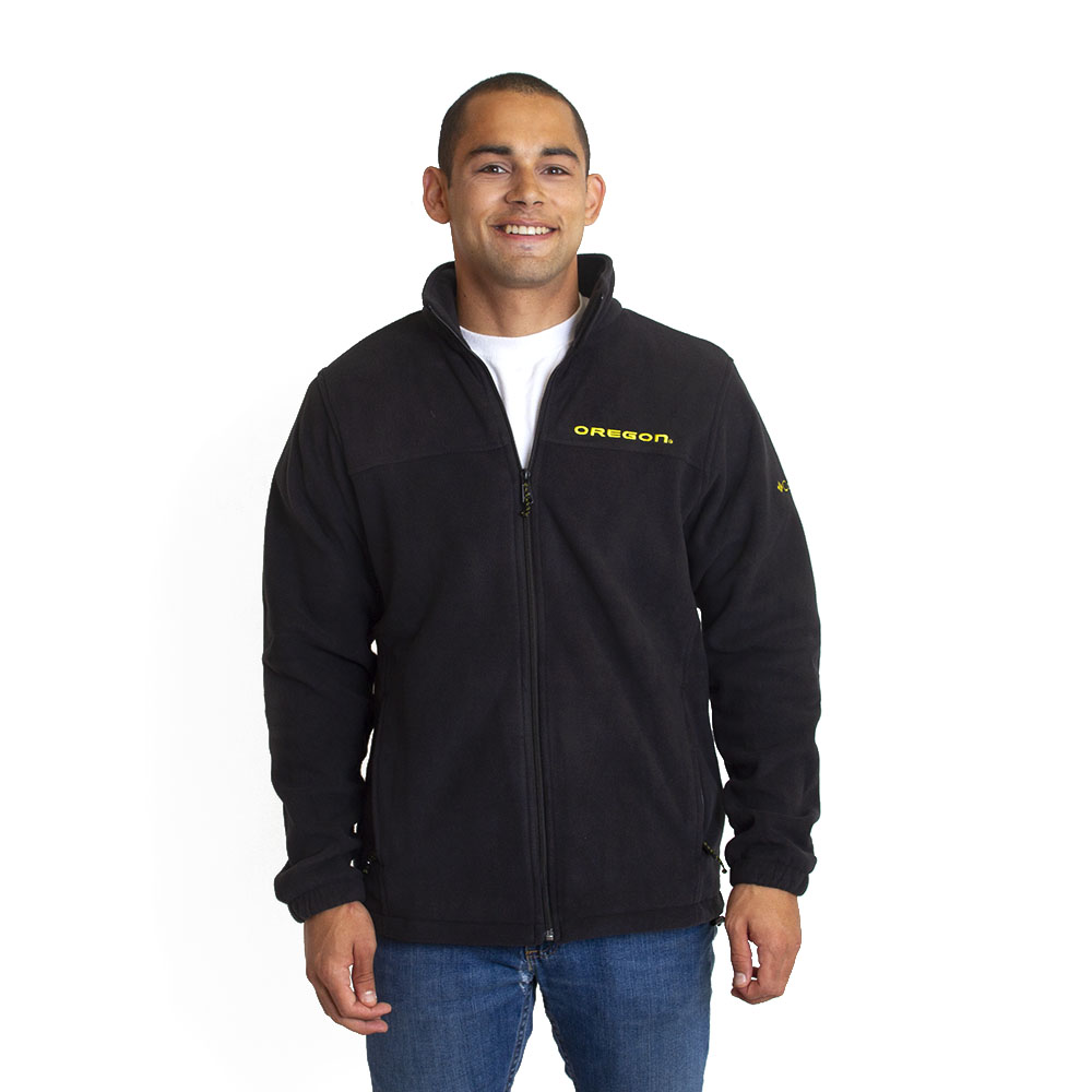 Columbia, Flanker III, Oregon word-mark, Full Zip, Sweatshirt