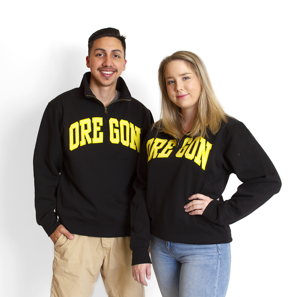 Arched Oregon, cotton, Twill, 1/4-Zip, Sweatshirt