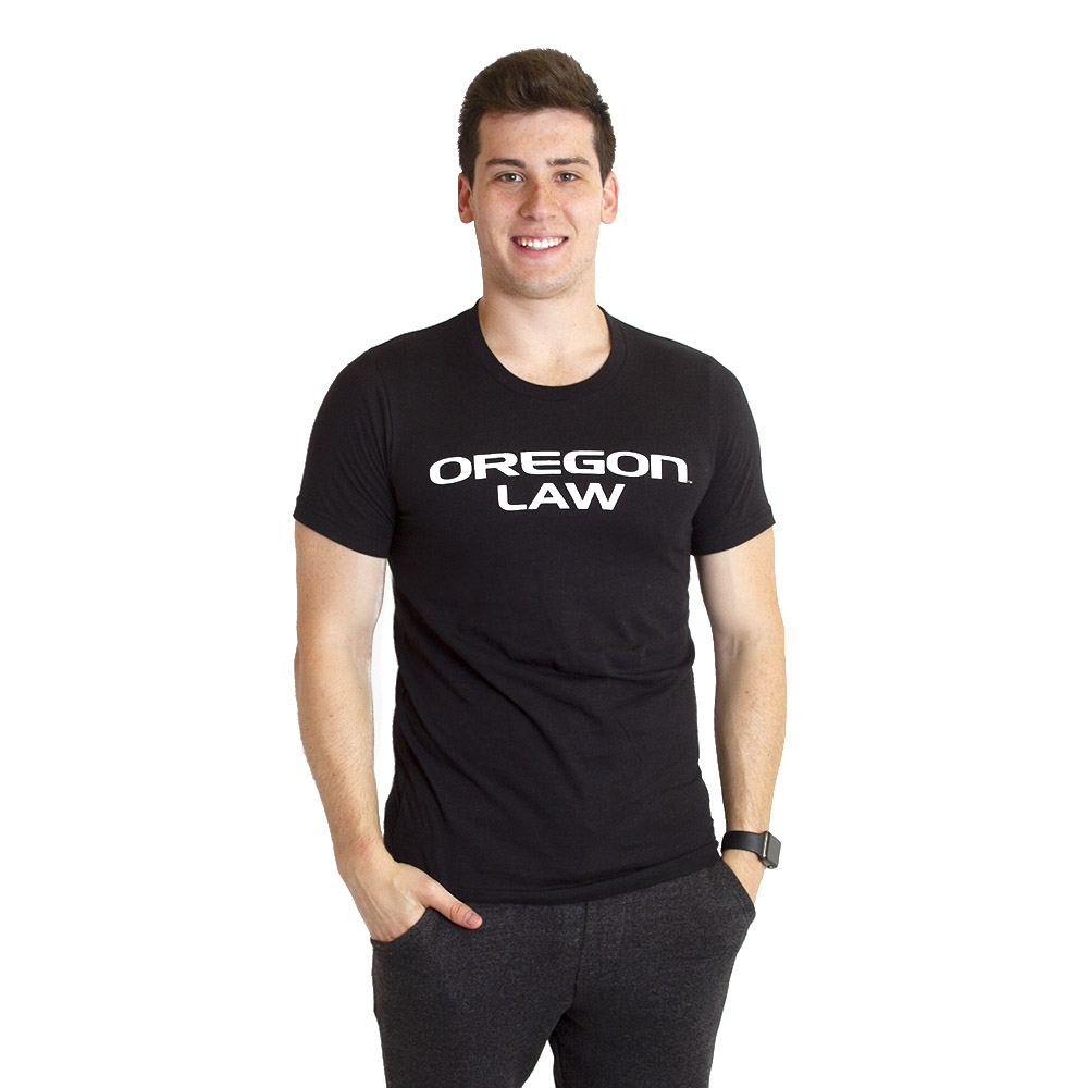Oregon Law, 2019, T-Shirt, Black