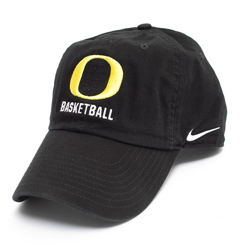 Black Nike Campus O Basketball Adjustable Hat dd6d90c9d27