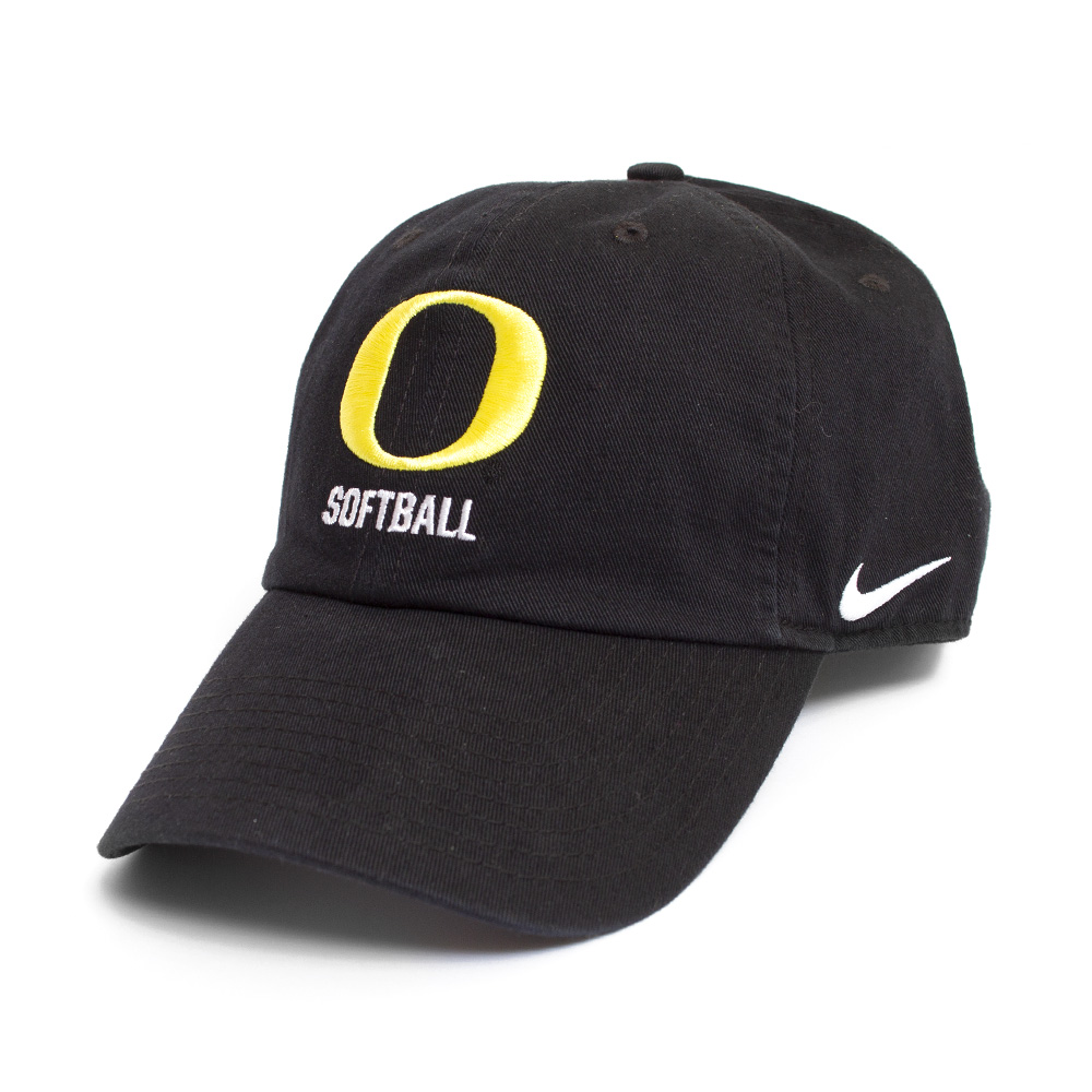 Black Nike Campus O Softball Adjustable Hat 1a79098ff18