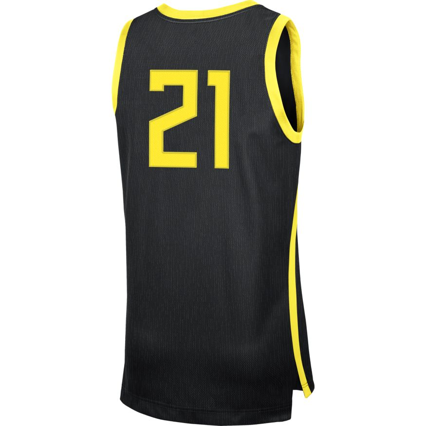 #21, Nike, Basketball, Replica, Road, Jersey
