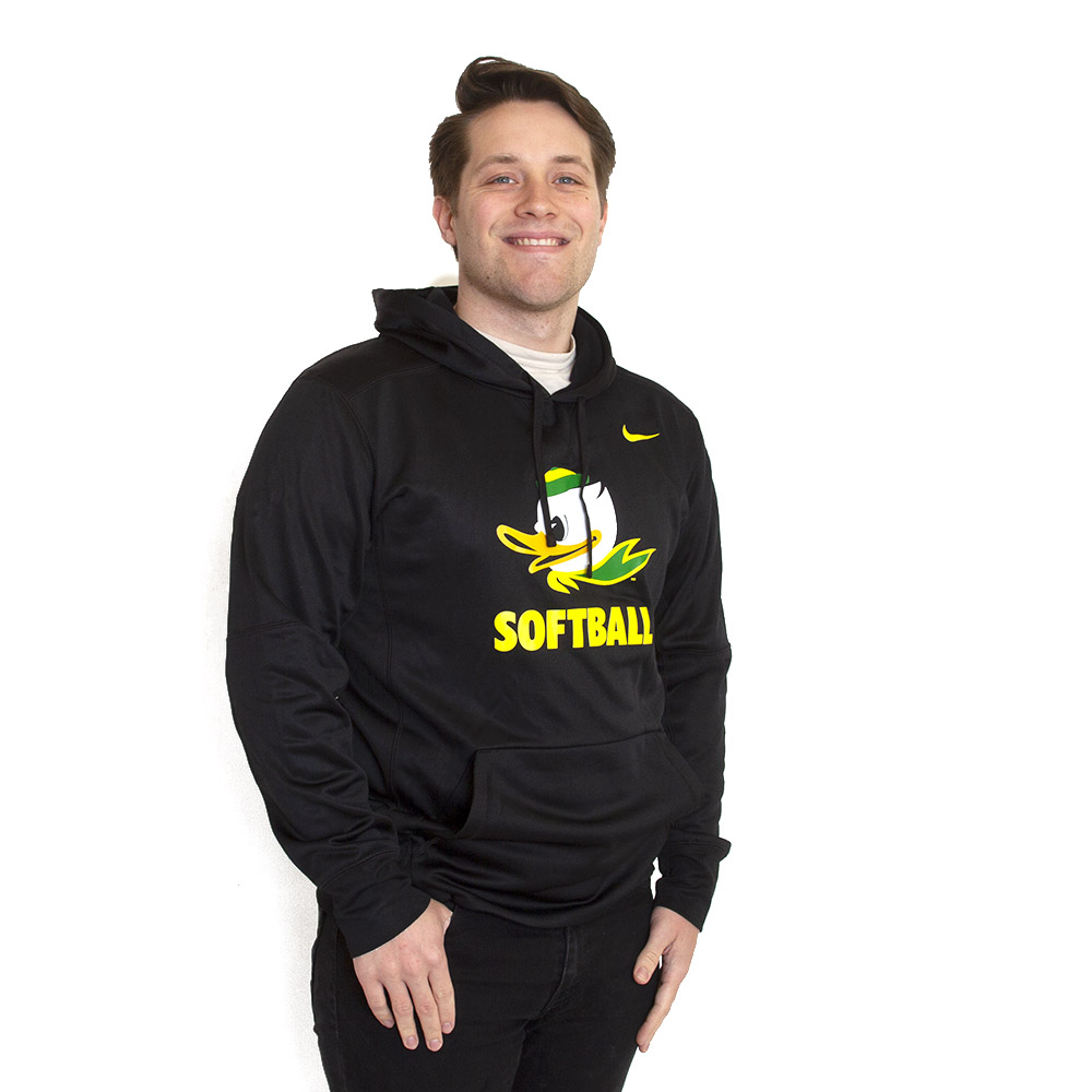 Fighting Duck, Nike, Softball, Fleece, Hoodie