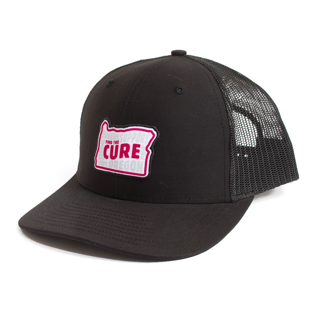 Richardson, BCA, Trucker, 2019, Find the Cure, Adjustable, Hat