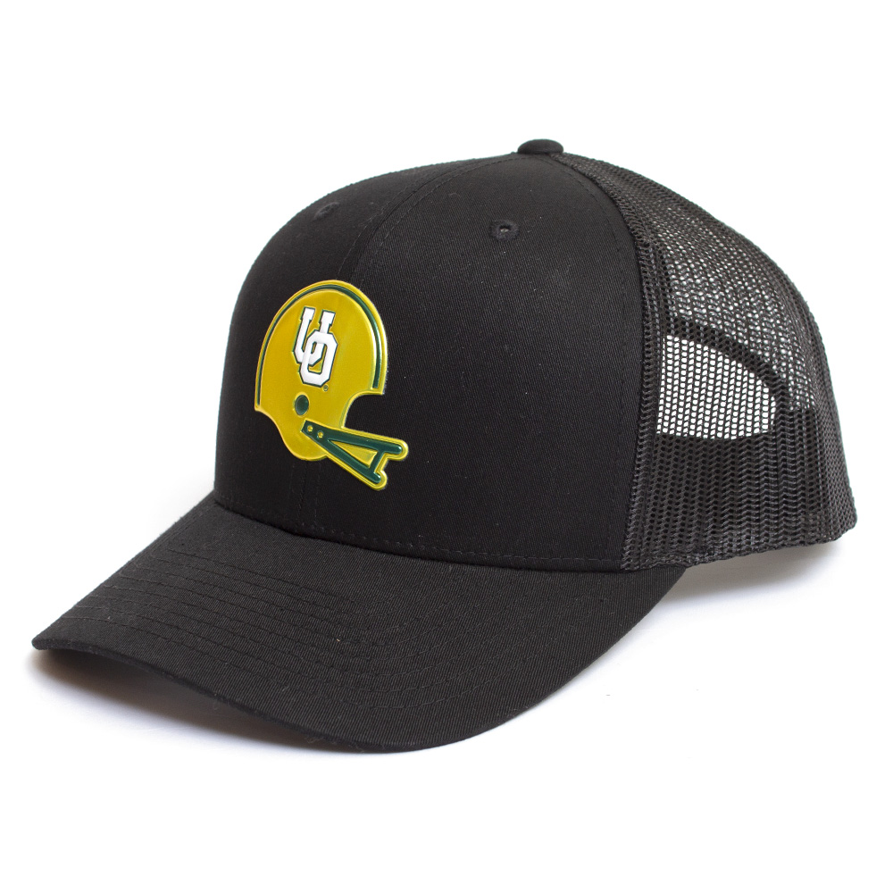 Interlocking UO, Richardson, Trucker, Hat, Black