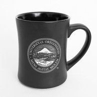 Oregon Seal, Etched, Traditional, Mug