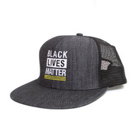Black Lives Matter, Trucker, Hat