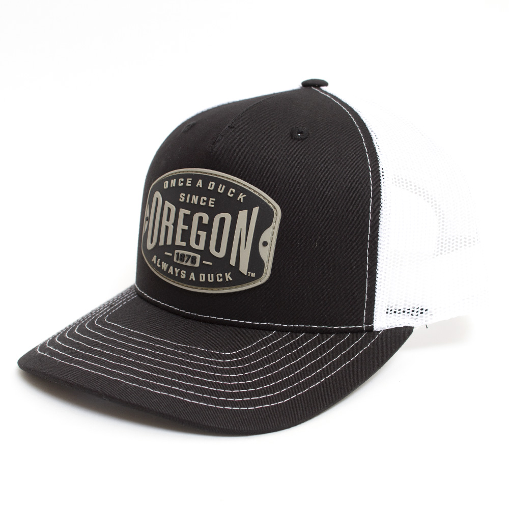 Once a Duck, 1876, Mesh, Trucker, Patch, Hat