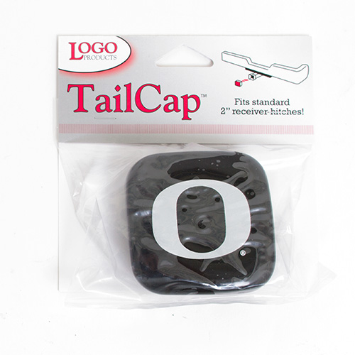 Black and Silver O Tail Cap Cover