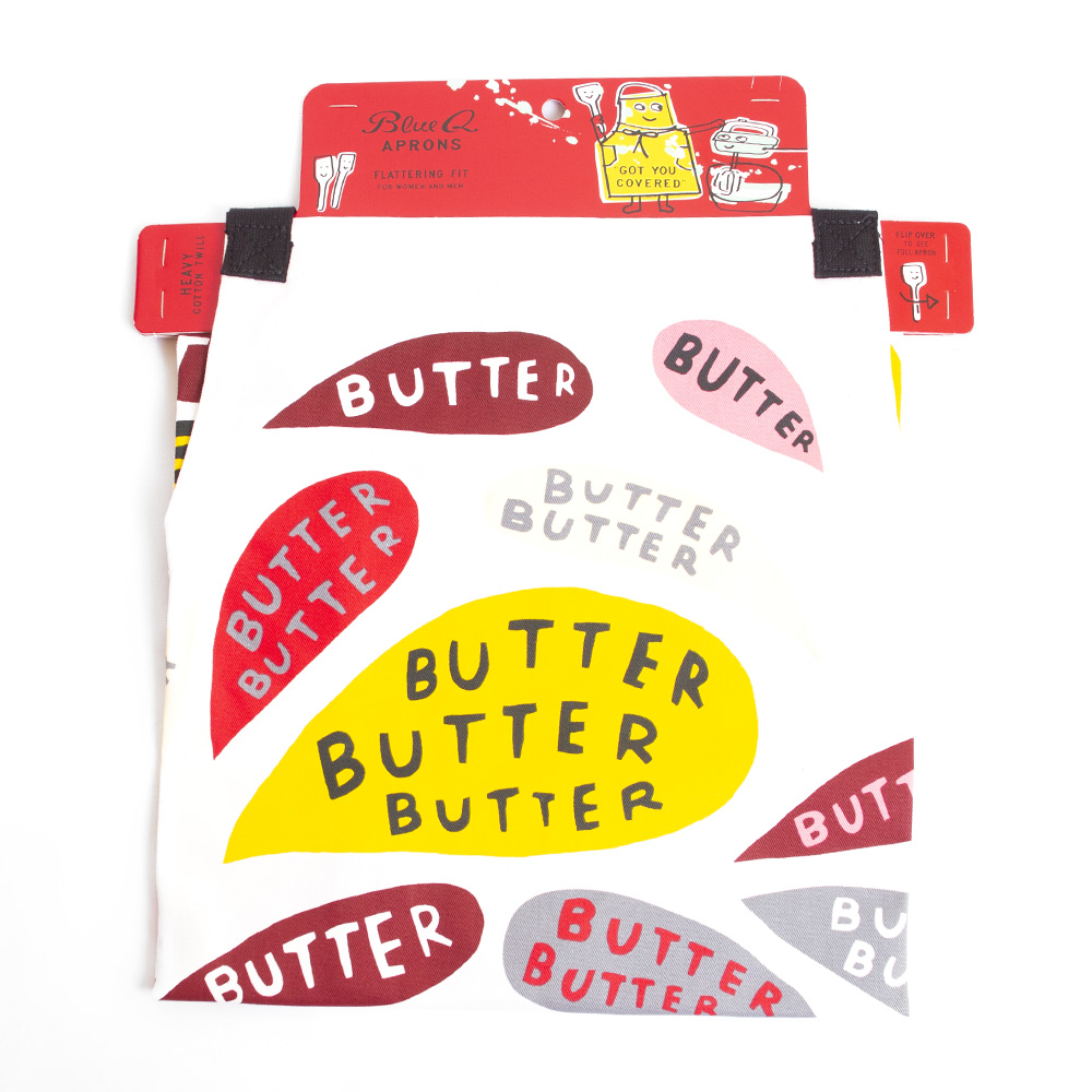 BlueQ, Apron, Butter design