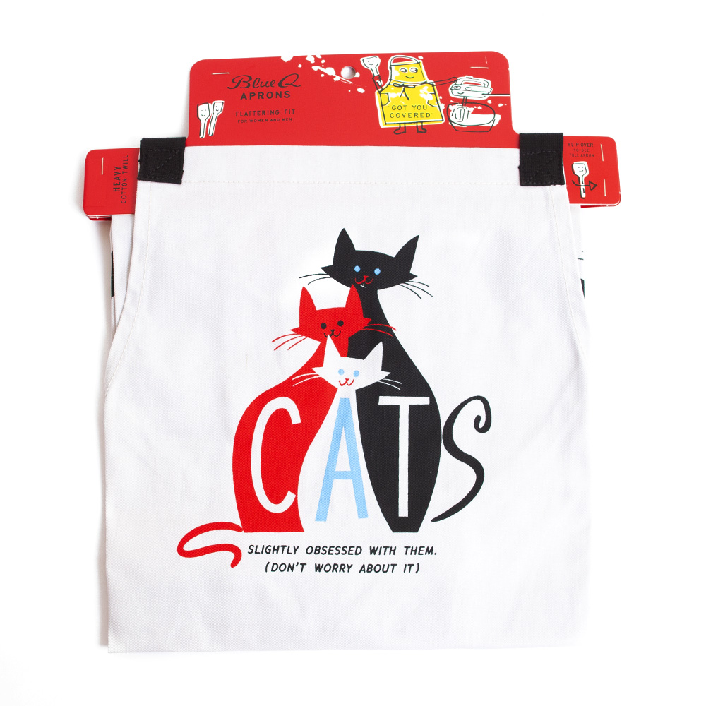 BlueQ, Apron, Cats design