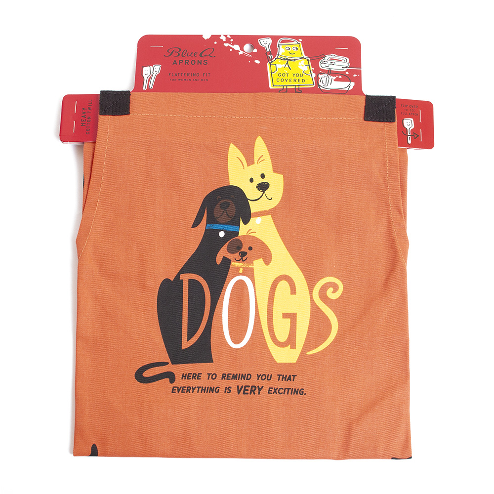 BlueQ, Apron, Dogs design