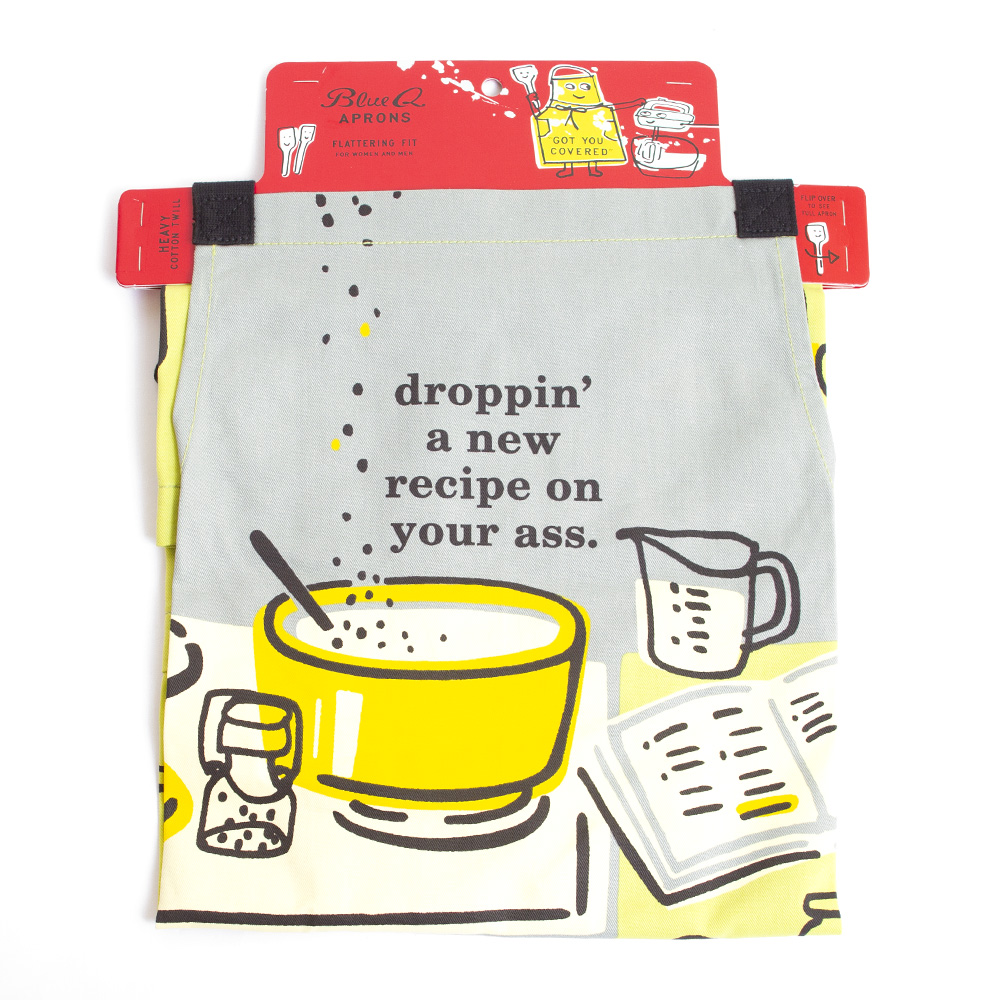 BlueQ, Apron, Recipe design