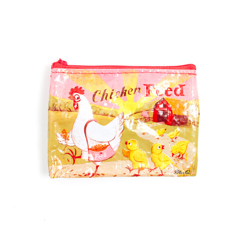 BlueQ Coin Purse Chicken Feed 3 x4