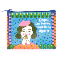 "BlueQ, Coin Purse, 3""x4"""