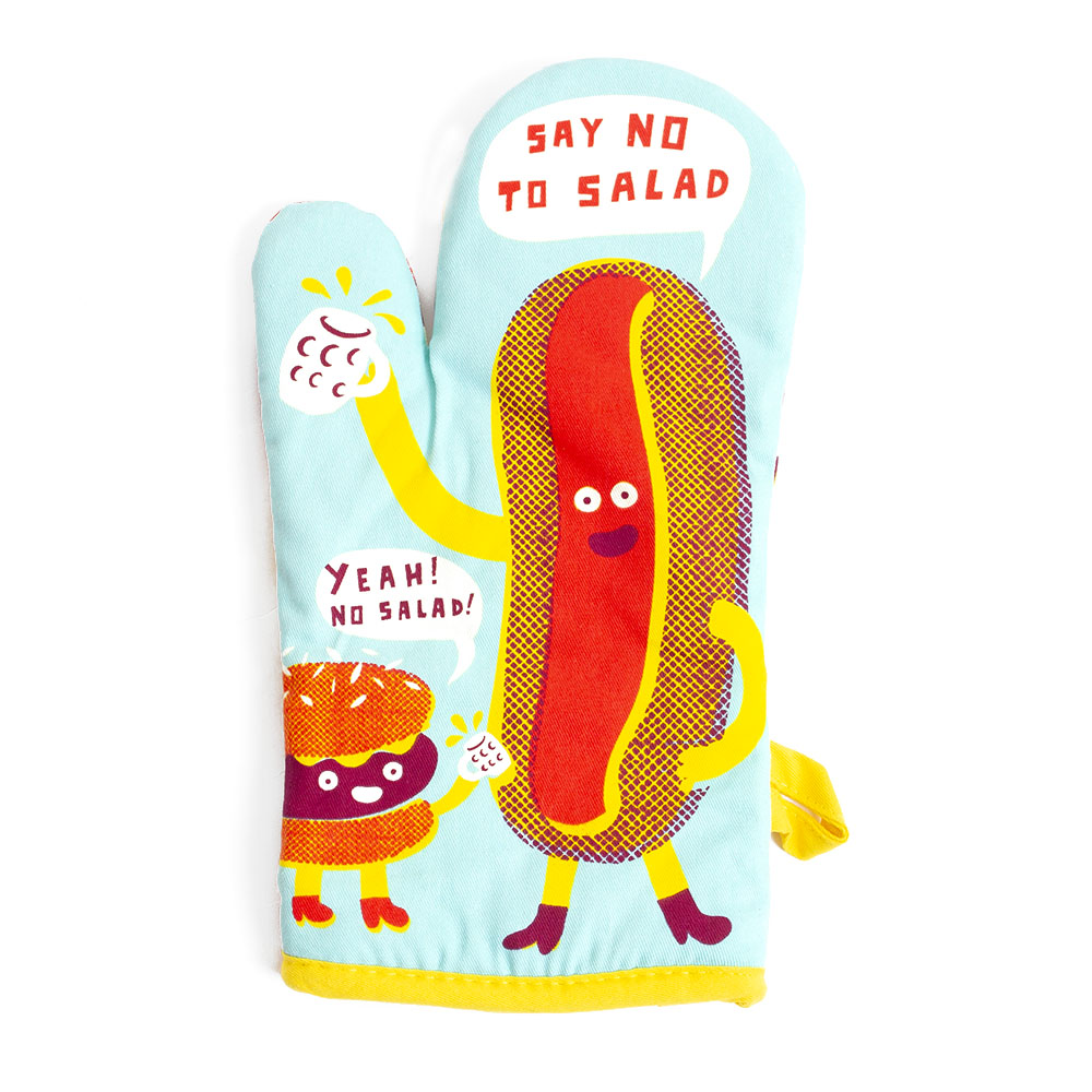 BlueQ, Oven Mitt, Say no to Salad