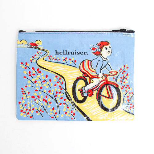 BlueQ Zipper Pouch Hellraiser 7.25 x9.5