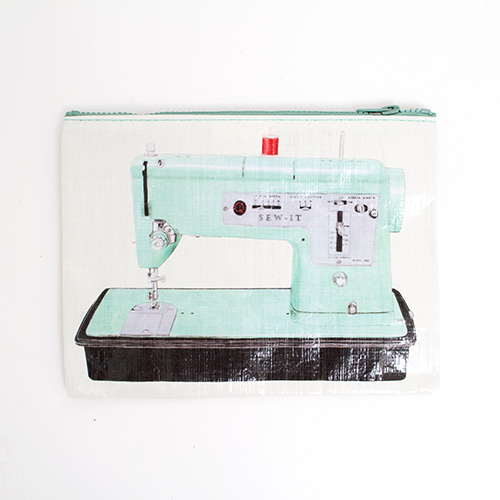 BlueQ, Zipper, Pouch, Sew It