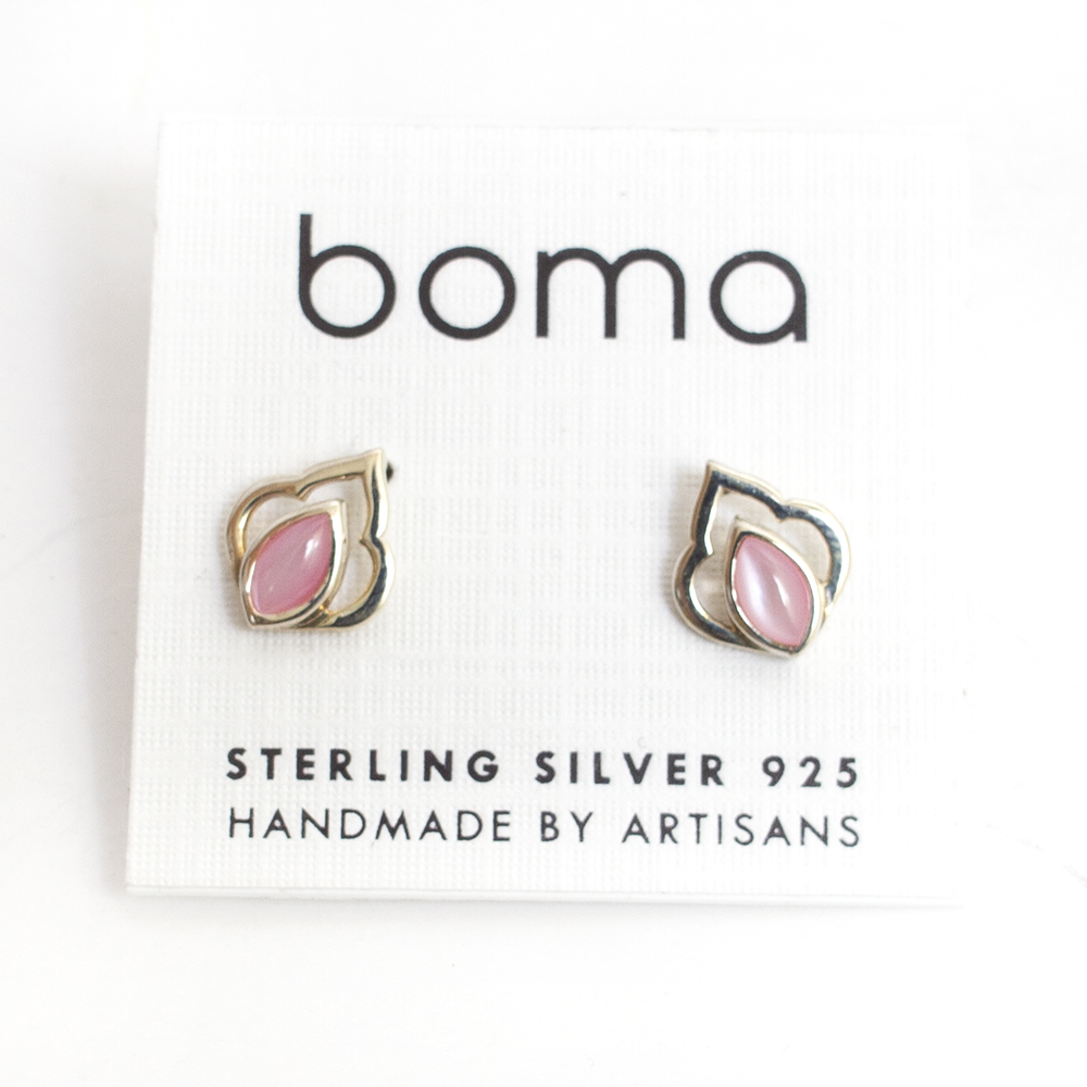 Boma, Sterling Silver, Earring