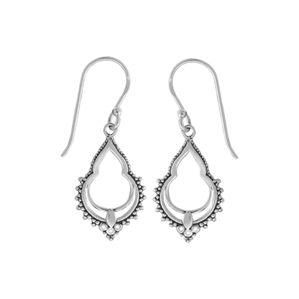 Boma, Sterling Silver, Earrings