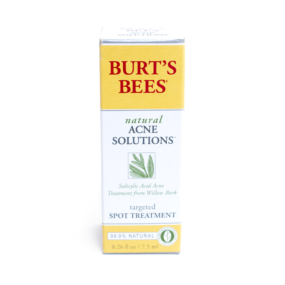 Burt's Bees, Acne, Treatment