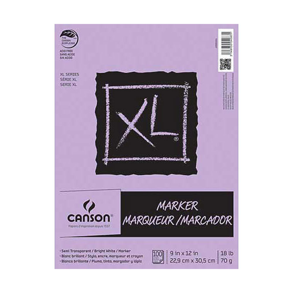 Canson, XL, Marker Pad, 100 Sheets