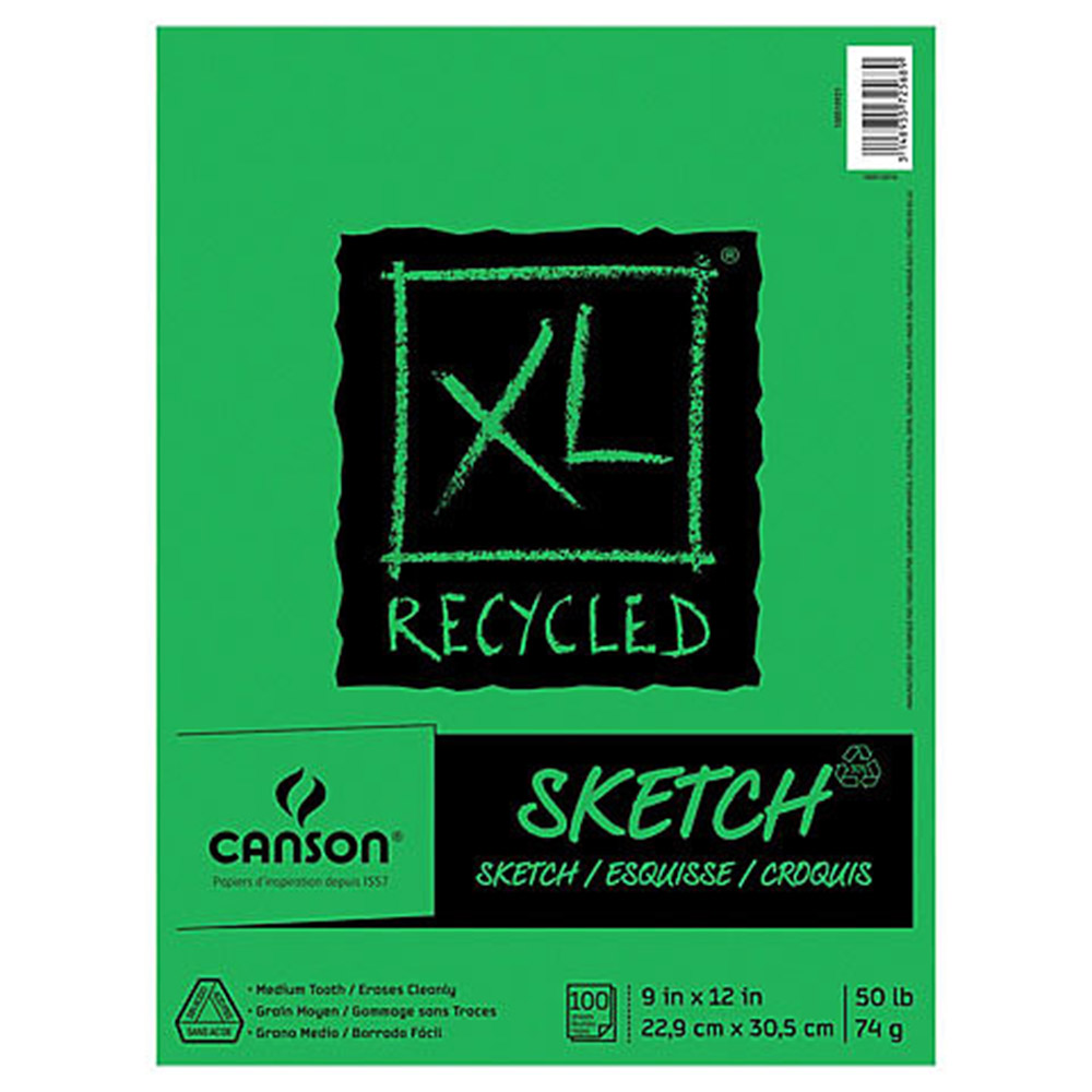 Canson, Recycled, Sketch, Pad